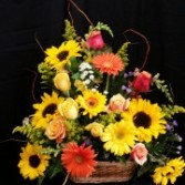 Bright and Cheerful Basket
