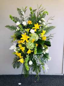 Bright and Cheerful Thoughts Easel Arrangement