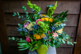 Bright and Cheery Deluxe Summer Flowers