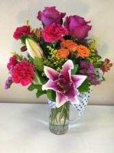 Bright and Cheery  Flower Arrangement