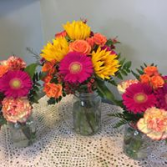Bright and Colorful Bridal Bouquets