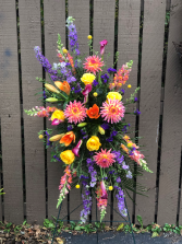 Bright and Colorful Standing Spray  Standing Spray
