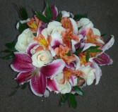 Bright and Fancy Wedding Bouquet