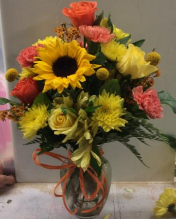 Bright and Happy Vase