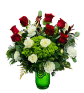 Bright and Jolly Christmas Bouquet