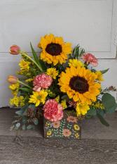 Bright and Joyful Fresh Arrangement