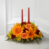 The FTD Bright Autum Centerpiece Centerpiece