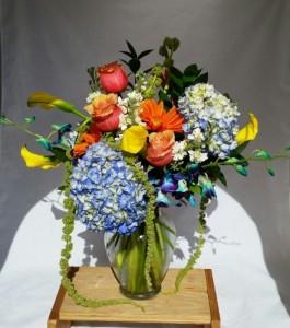 Summertime Sparkle Vase