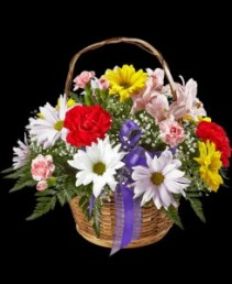 Bright Basket Springtime