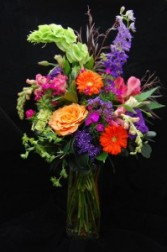 Bright Beautiful Vase Vased Arrangement