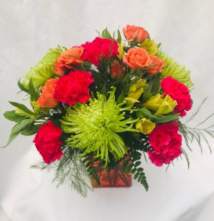 Bright Beauty Fresh Vase Arrangement
