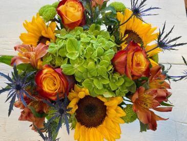 Bright Beauty Vase Arrangement