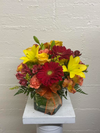 Bright Before Your Eyes Floral Arrangement