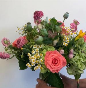 Bright Birthday Wishes Vase Arrangement in Northport, NY | Hengstenberg's Florist