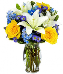 Bright blue sky  Bouquet