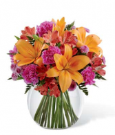 Bright & Bubbly  Bubble Vase