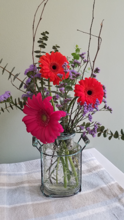 Bright Celebration Flower Arrangement