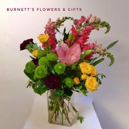 Bright Cheer Vase Arrangement
