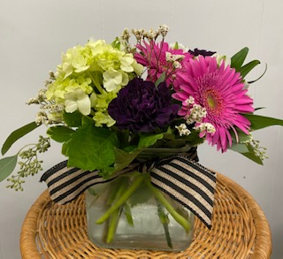 Bright & Cheery Cube Arrangement