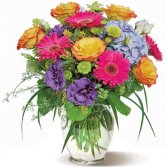 Bright Color Delight Arrangement
