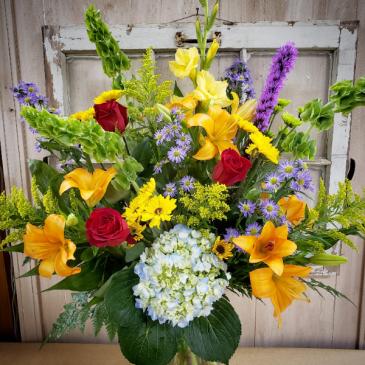 Bright & colorful Vase