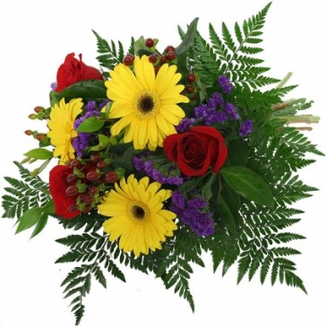 Bright  Everyday Bouquet Hand tied Bouquet
