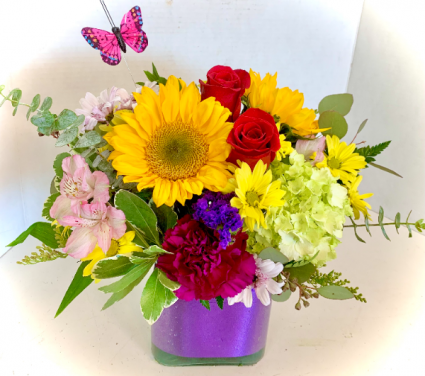 Bright & Happy Bouquet Custom Made by Petal Pusher
