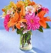 Bright Hugs Vase Arrangement