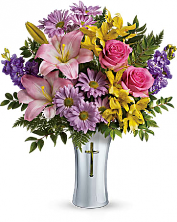 "Bright Life Bouquet T278-2 16.5""(w) x 20""(h)"