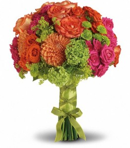 Bright Love Bouquet Bridal Bouquet in Cape Coral, FL | ENCHANTED FLORIST OF CAPE CORAL