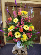 Bright Memories Funeral Arrangement
