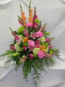 Bright Memories Funeral Arrangement