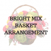 Bright Mix Basket Arrangement