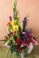 Bright Morning Star Vase Arrangement