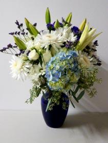 BRIGHT MY HEART Sympathy Flower Arrangement