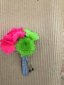 Bright Night Boutonniere
