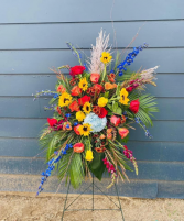 Bright remembrance  Standing Spray