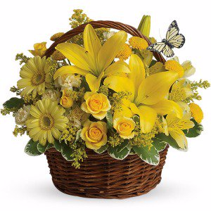 Bright Side Birthday Arrangement in Lexington, NC | RAE'S NORTH POINT FLORIST INC.