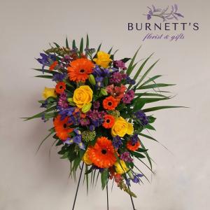 Bright Soul Sympathy Spray in Kelowna, BC | Burnett's Florist