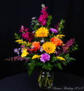Bright Spring Flower Arrangement