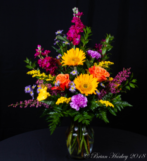 Bright Spring Flower Arrangement in Kannapolis, NC | MIDWAY FLORIST OF KANNAPOLIS