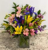 Bright Spring Rectangle Fresh Arrangement