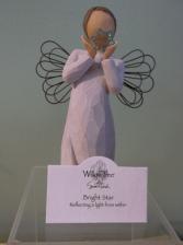 """BRIGHT STAR"" WILLOW TREE ANGEL"