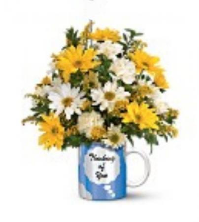 Bright Thinking of You Mug keepsake Mug