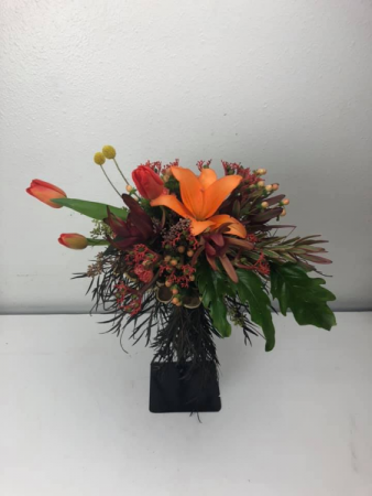 Bright Tropical  Bridal or Brides Maid Bouquet
