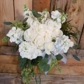 Bright White Bouquet Hand Tied Bouquet