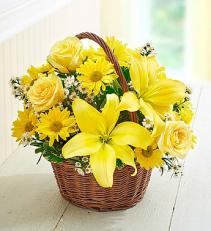 Brighten Your Day Basket of Fresh