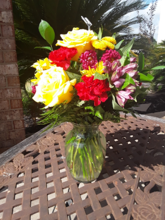 Brighten Your Day Mixed Bouquet