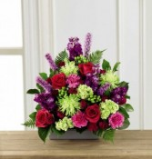 Brighten your spirits arrangement Sympathy Arrangement
