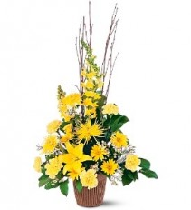 Brighter Blessing Funeral Basket